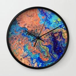 Cephalopod Dreams Wall Clock