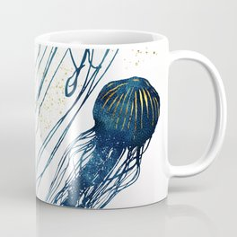 Metallic Jellyfish II Coffee Mug
