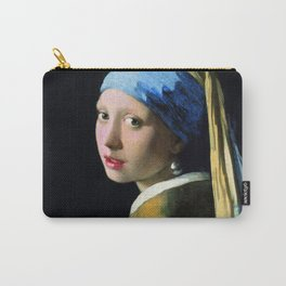 Jan Vermeer Girl With A Pearl Earring Carry-All Pouch