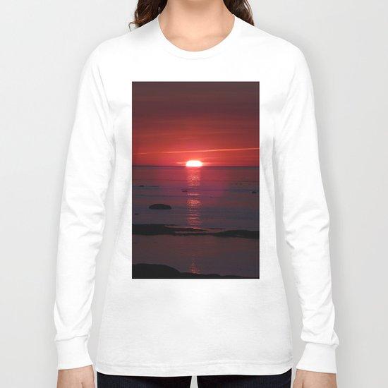 Red Skies Before Dusk Long Sleeve T-shirt