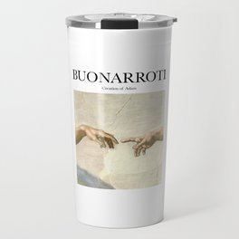 Buonarroti - Creation of Adam Travel Mug