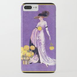 Vintage Lady from 1912 iPhone Case