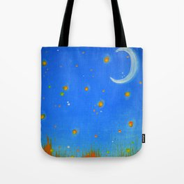 Firefly Field Tote Bag