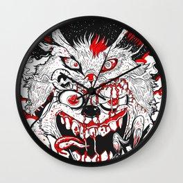 Demon Fluff Wall Clock