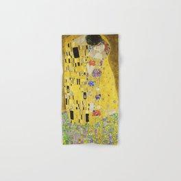 The Kiss - Gustav Klimt, 1907 Hand & Bath Towel