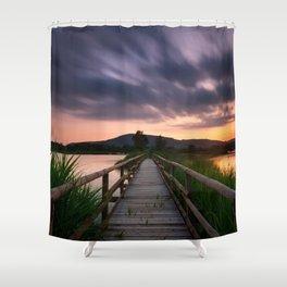 Escape II Shower Curtain