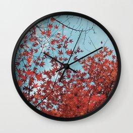 Autumn in Japan Wall Clock