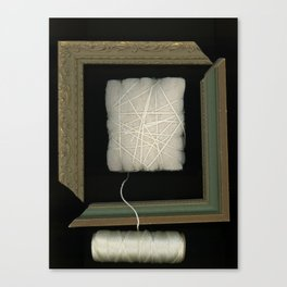 Cloud on a String surreal art Canvas Print