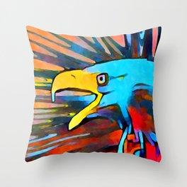 Bald Eagle 3 Throw Pillow