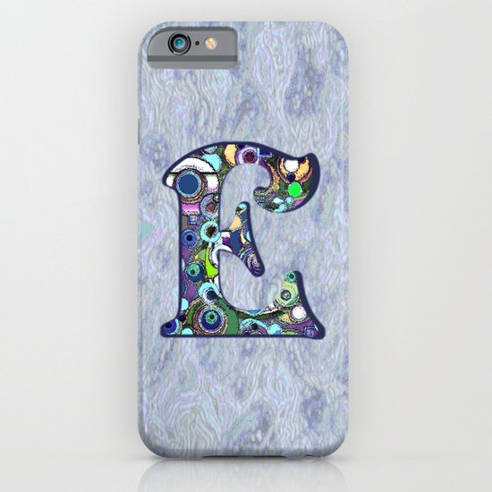The Letter E iPhone & iPod Case