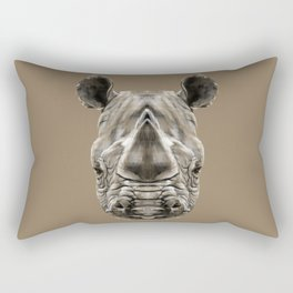 Rhino Sym Rectangular Pillow