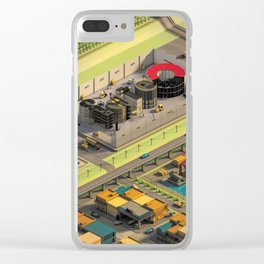 Factory Clear iPhone Case