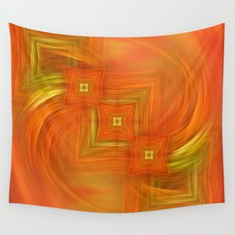 Turbulence and order  Wall Tapestry