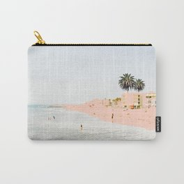 Pink Beach #society6 #decor #buyart Carry-All Pouch
