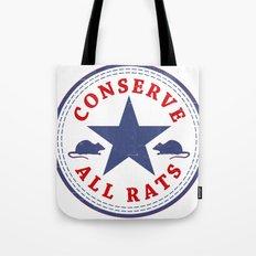 Conserve All Rats Tote Bag