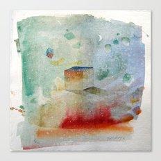 waxing crescent.three Canvas Print
