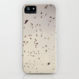 pigeon onslaught iPhone Case