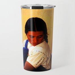 Chamula Woman and Child Travel Mug