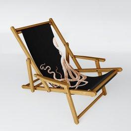 Octopus sea nautical beach coastal Sling Chair