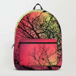 Red Sky At Dawn Backpack