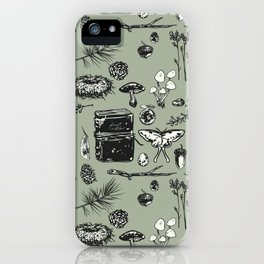 Forest Notes iPhone Case
