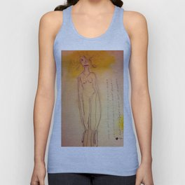 Lucille, The First Human Angel Unisex Tank Top