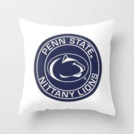 P.S.U. Circle Throw Pillow