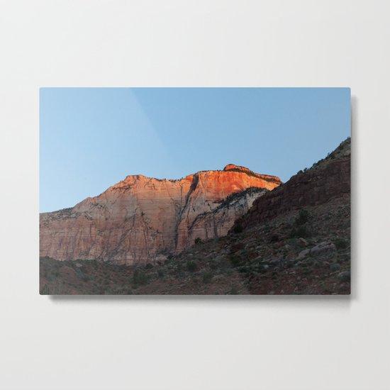 First Light (Zion National Park, Utah) Metal Print