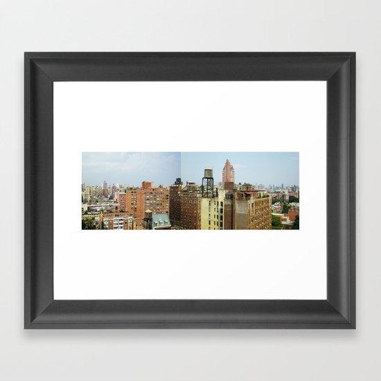 NY_NE Framed Art Print
