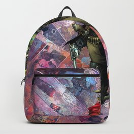 McCree O.W. Gamer Comic Collage PS4 XBox One Geek Art Backpack