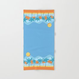 beach fun times Hand & Bath Towel