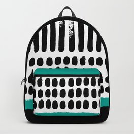 November Forest abstract pattern Backpack