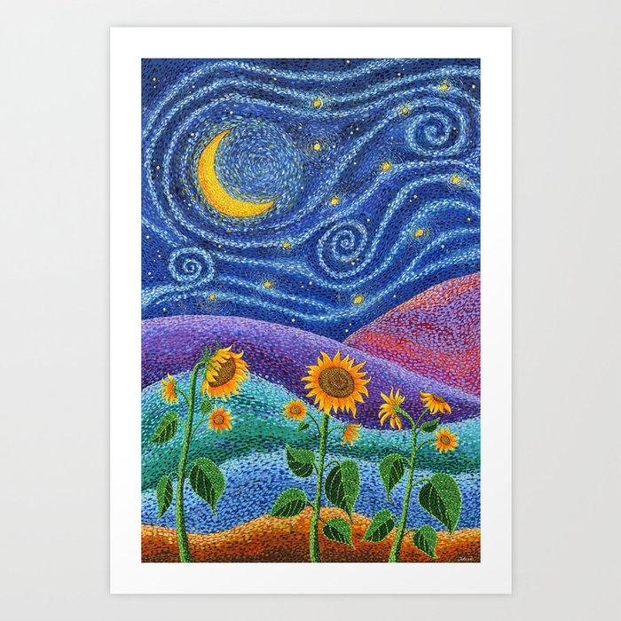 Dream Fields Kunstdrucke
