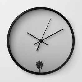 palm tree peek Wall Clock