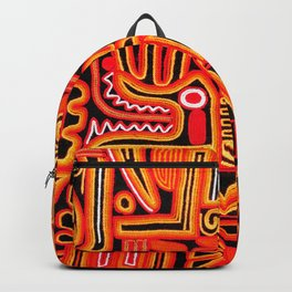Beautiful blanket with a typical Peruvian design Backpack