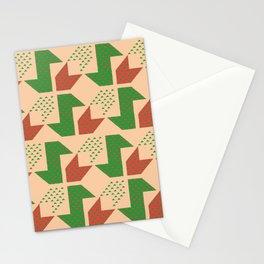 Clover&Nessie Lime/Orange Stationery Cards