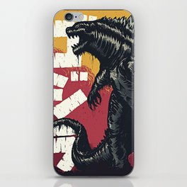 King of the Monsters iPhone Skin