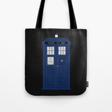 Doctor Who's Tardis Tote Bag