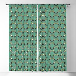 A touch of toucan Blackout Curtain