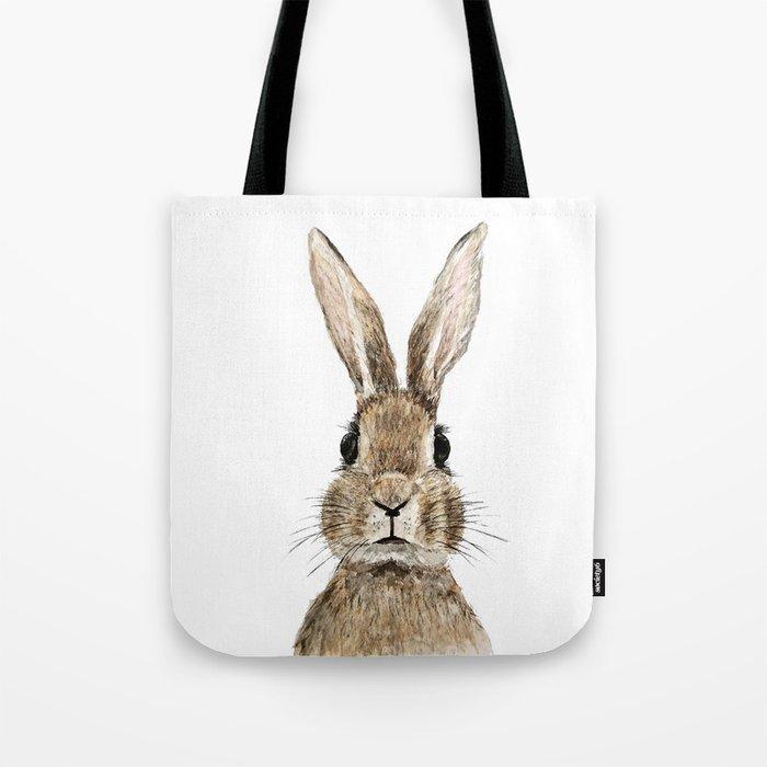 cute innocent rabbit Tote Bag