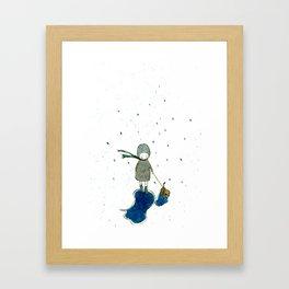 rainday Framed Art Print