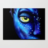 avatar Canvas Prints featuring Avatar  by itweet