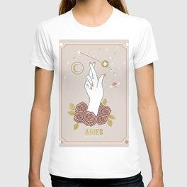 Aries Zodiac Series T-shirt