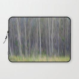 Birch Blurs Laptop Sleeve