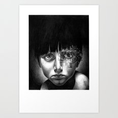 THE SPACEINVADERS 4# Art Print