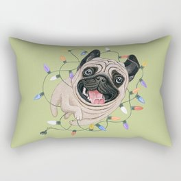 Pug Rectangular Pillow