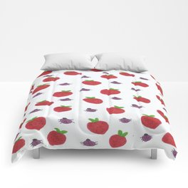 Strawberries and Ladybugs Comforters