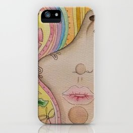 Look up to see the rainbows iPhone Case