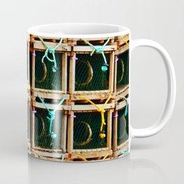 Square Lobster Traps Coffee Mug