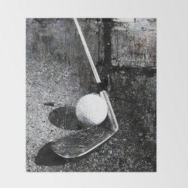 The golf club Throw Blanket